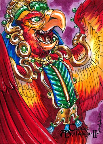 Classic Mythology II- Seven Macaw by MelUran