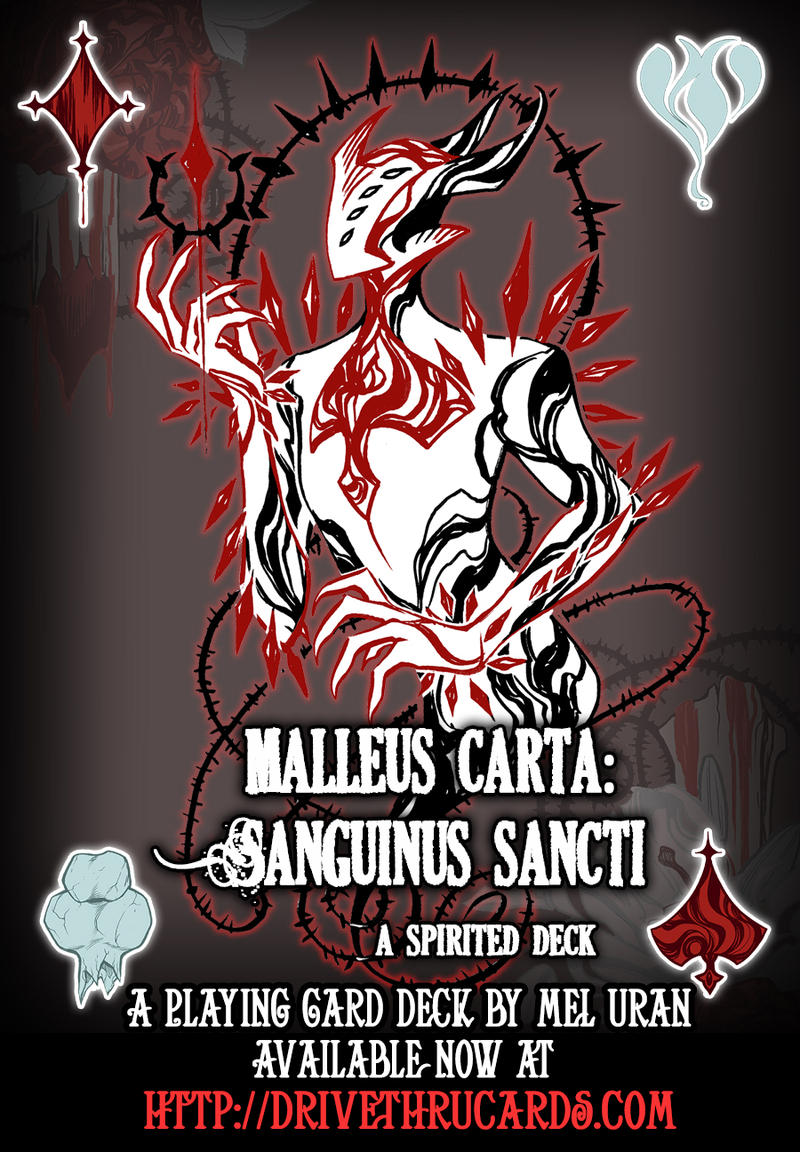 Malleus Carta cover ad by MelUran