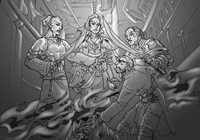 Spirit Enforcers by MelUran