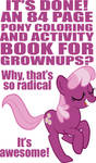 84 Page My Little Pony Book
