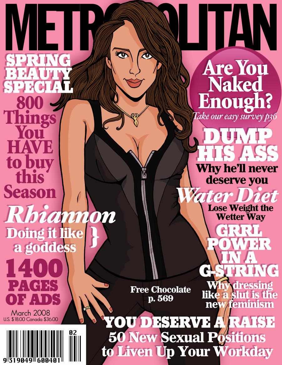 Metropolitan Cover: Rhiannon
