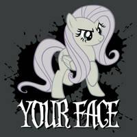 Your Face Shirt by tygerbug
