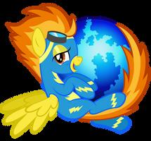 Spitfire Firefox Icon by tygerbug