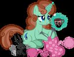 Knitting Pony