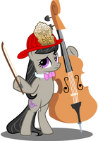 Octavia Shrugpony by tygerbug