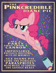 Pinkie Pie Party Cannon Circus Poster