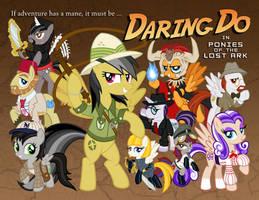 Daring Do: Ponies of the Lost Ark (Alternate) by tygerbug