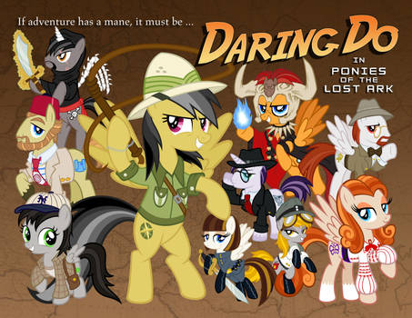 Daring Do in Ponies of the Lost Ark