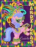 Violet - Mardi Gras Canterlot