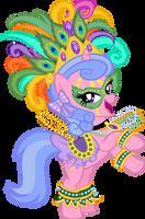 Mardi Gras Violet by tygerbug