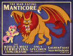 Man-Eating Manticore Poster