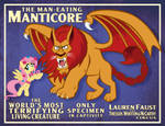Man-Eating Manticore Poster (Clean)