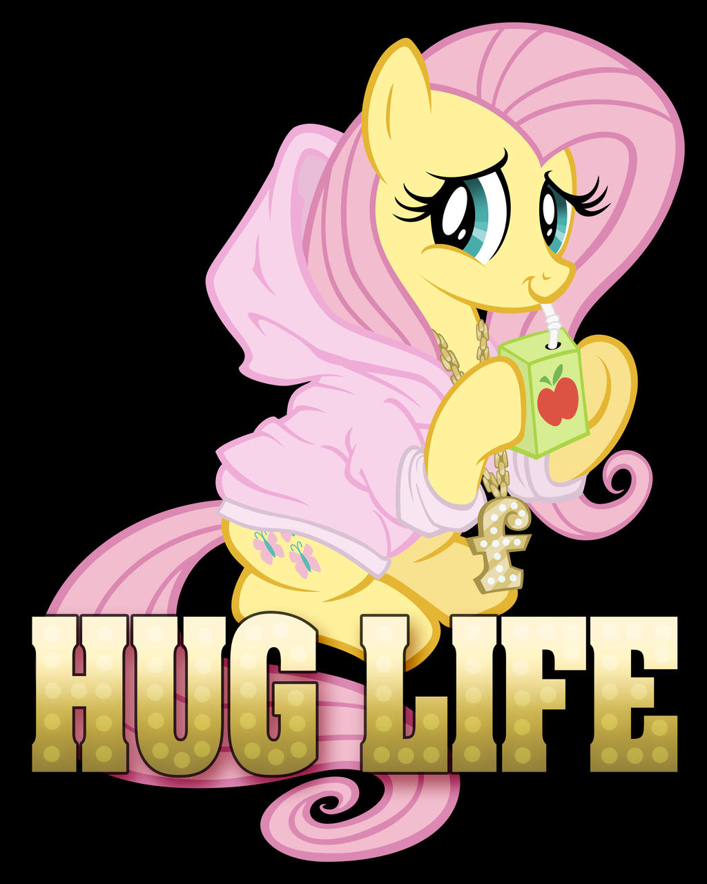 Hug Life Print by tygerbug