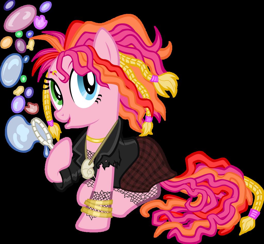 Pinkie Pie Delirium (The Sandmare) by tygerbug