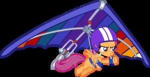 Scootaloo Hanggliding