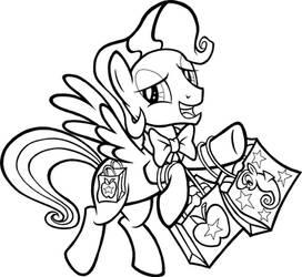 Bowtie (Big Apple Ponycon Mascot) by tygerbug