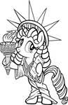 Liberty (Big Apple Ponycon Mascot)