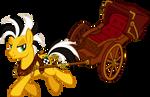 Cabbie (with rickshaw)