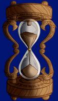 Dragon Hourglass by tygerbug