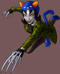 Nepeta Leijon Attacks (color)
