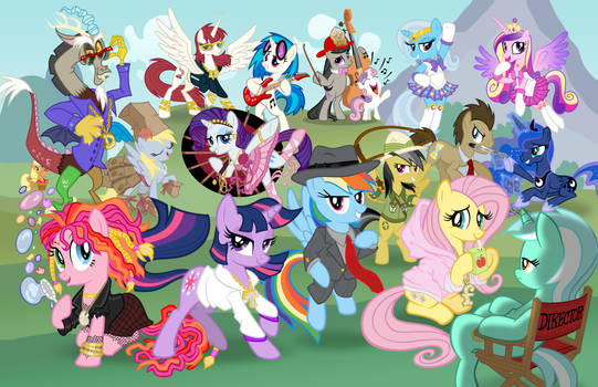 Too Much Pony - Bronycon Poster