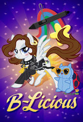B-Licious Poster by tygerbug