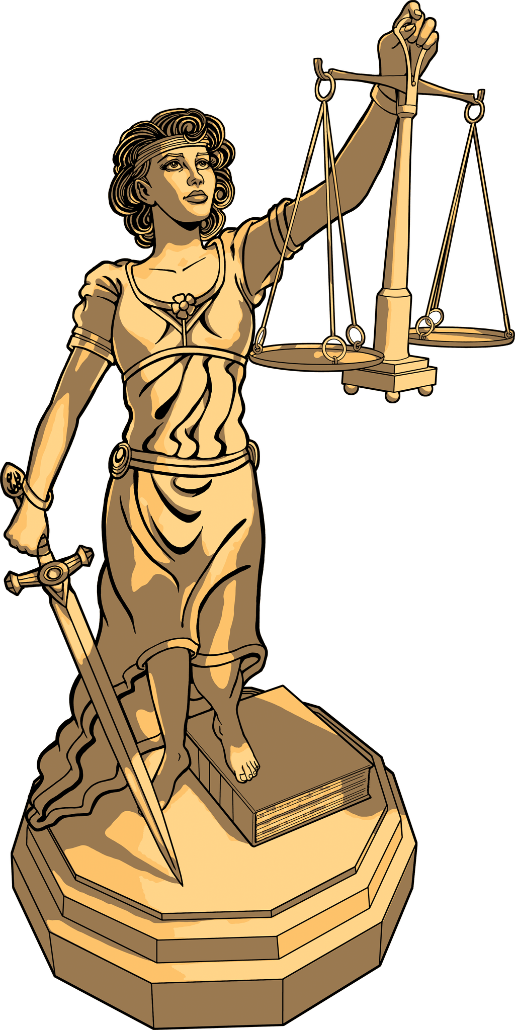 Lady Justice by tygerbug