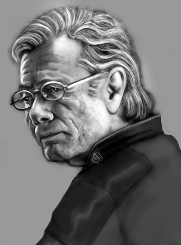Admiral William Adama by tygerbug