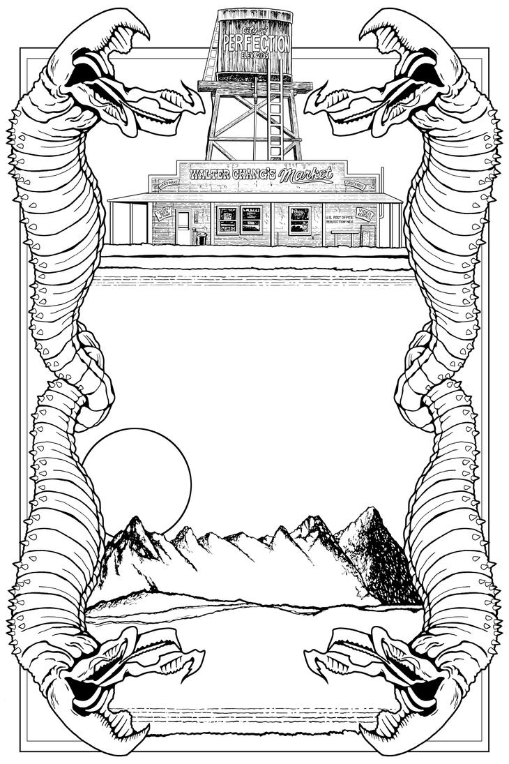 Tremors Bookplate by tygerbug
