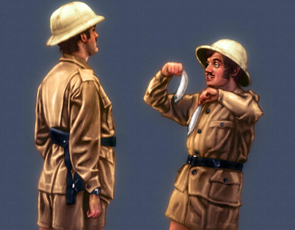 Monty Python The Fish Slapping Dance by tygerbug