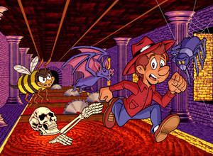 Sydney Hunter and the Sacred Tribe Super NES cover