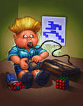 Garbage Pail Kids: Matt Electronix