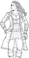 Scarlet, a pirate