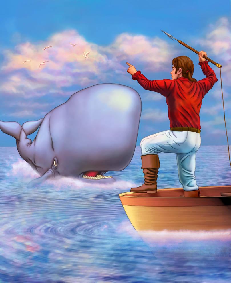 Whale Hunt by tygerbug