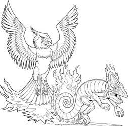 Coleco Phoenix vs. Chameleon