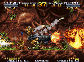 Metal Slug 3 - Immortal Allen O'Nell  (MSA) by APR01-DeZKan