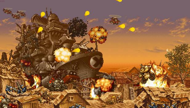 Battle for Big Shiee (Metal Slug 2)