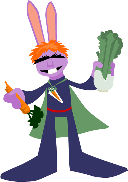 Captain Vegetable by yarrbunny