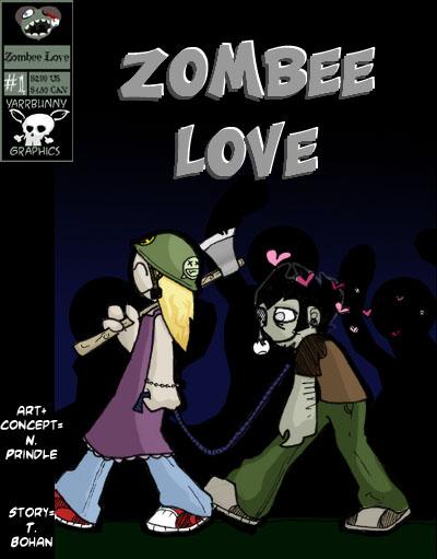 Zombee Love by yarrbunny
