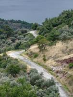 Road in Assos Turkey by nevit