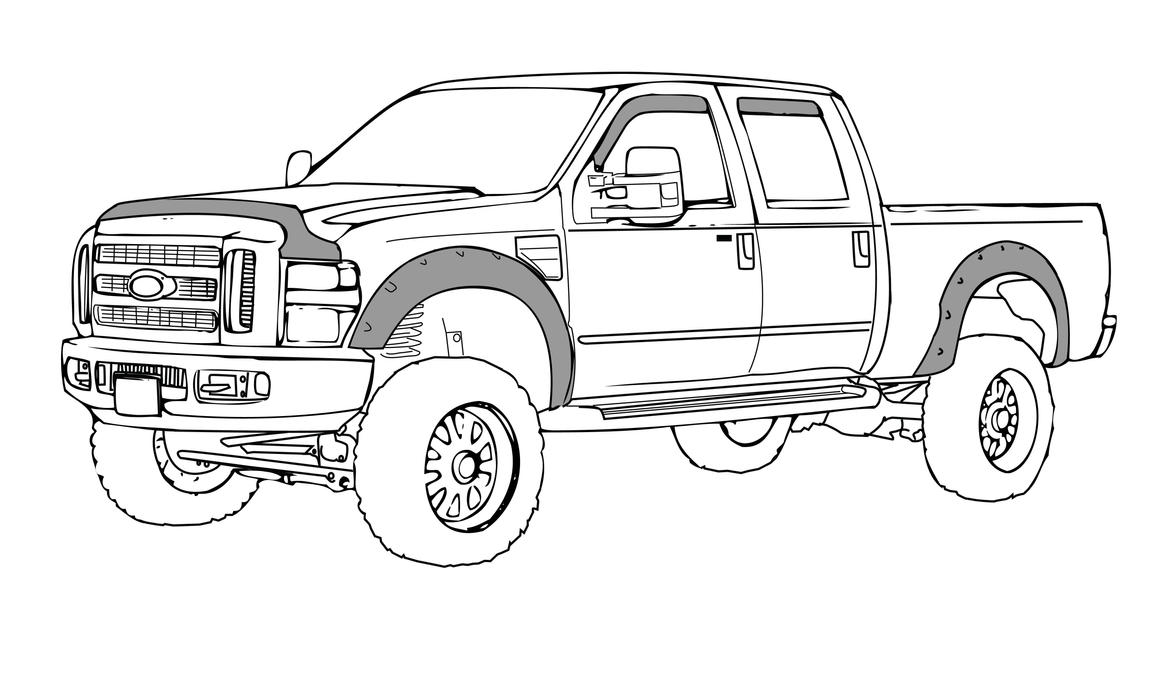 F 350 Line Art 155014980 further How To Draw Ford F350 besides 441634307182002895 additionally 517210338437149591 also Old American Pick Up Truck 1047 Vector Clipart. on lifted f250 diesel