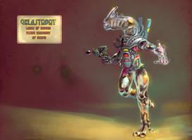 Gelastobot by LaughtonMcCry