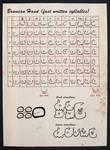 Brumian Hand Script
