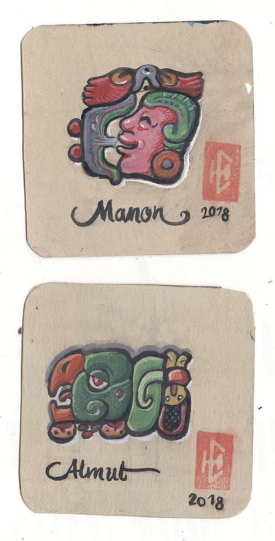 mayanized names by LaughtonMcCry