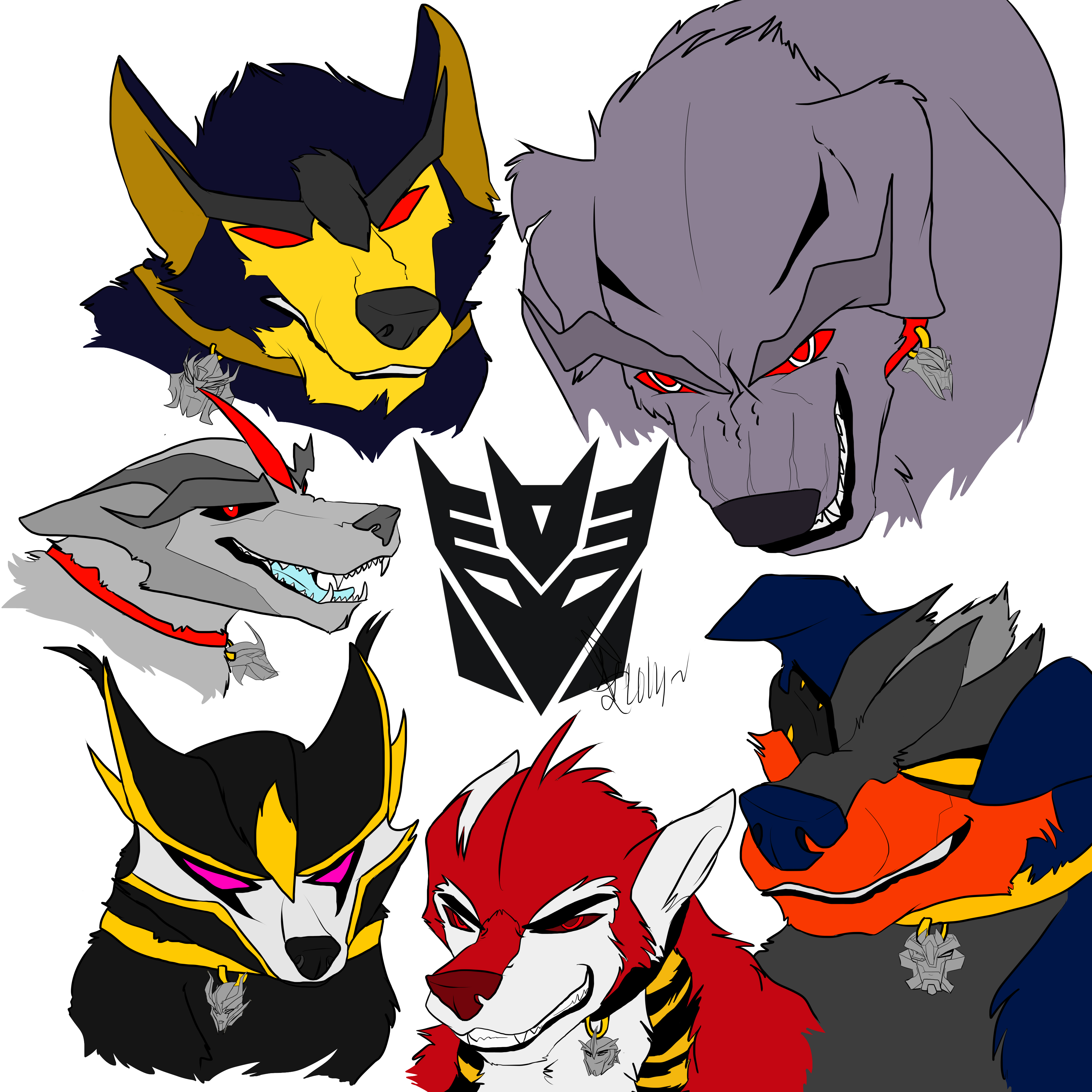 Dogformers: Decepticons by TheSpeed0fLlight on DeviantArt