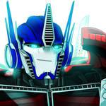Optimus Prime Logo 2.0