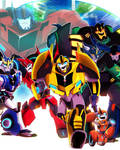 Transformers Robots in Disguise 2015 Promo