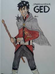 Sparrowhawk Ged !