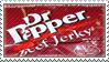 Dr. Pepper Jerky stamp