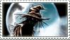 Scarecrow Moonlight Stamp